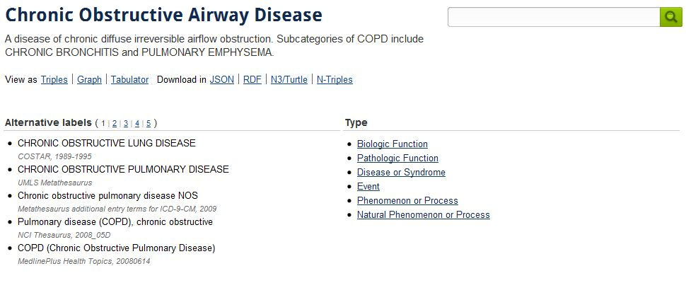 linked-life-data COPD